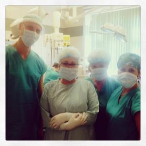 Dr. Kulhánek und sein Team